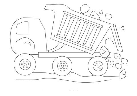 Rock Crawler Truck Coloring Pages Coloring Pages