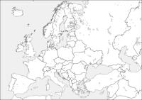 Disegno di Mappa dell'Europa da colorare | Disegni da ...