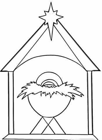 religious christmas coloring pages # 7