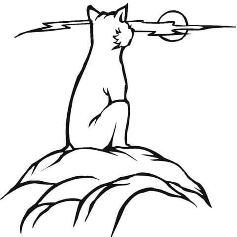 Bobcat Printable Coloring Pages