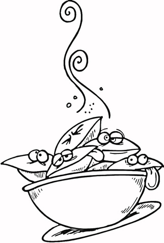 Picnic Food Coloring Pages