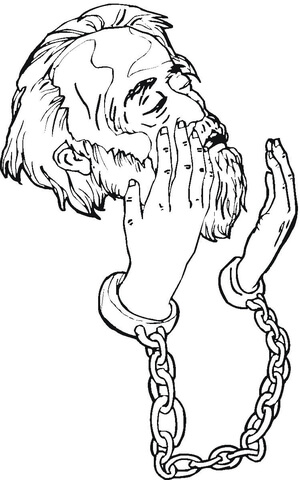 Jail Coloring Pages Sketch Coloring Page
