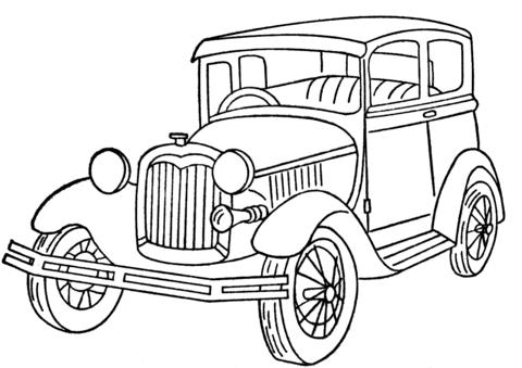 Ford Model A tegninger