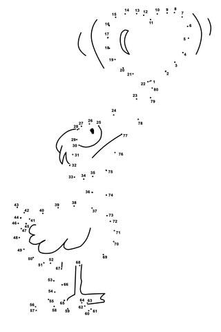 Punkt zu Punkt Ente mit Herz  Punkt zu Punkt kostenlos zum ausdrucken