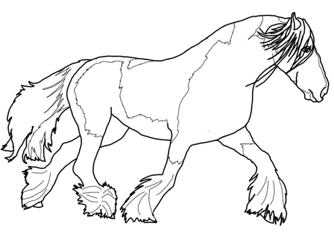 free printable horse coloring pages # 69