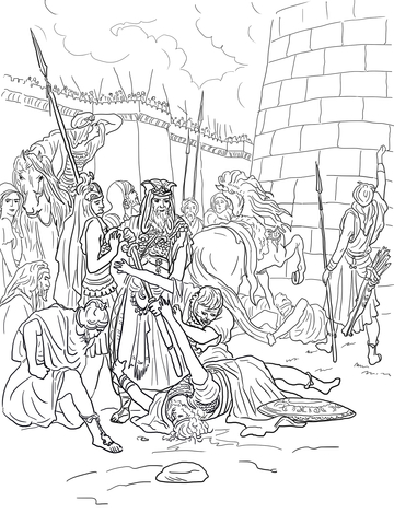gideon coloring pages # 85