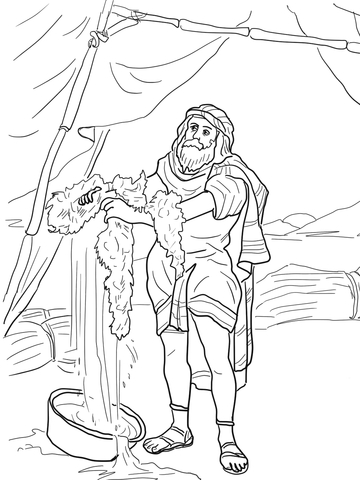 gideon coloring pages # 10
