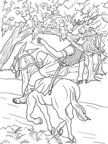 David King Bible Coloring Coloring Pages