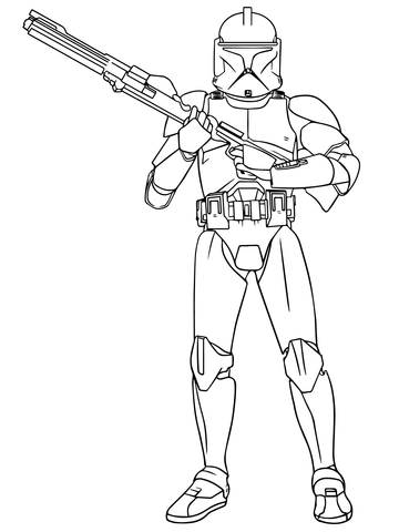 boba fett coloring page # 6