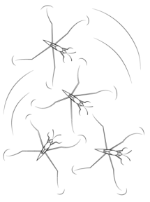 Pond Skaters coloring page Free Printable Coloring Pages