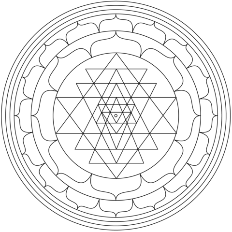 Meaning Of Sri Yantra