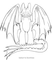 dragons ohnezahn ausmalbilder