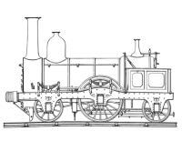 Disegno di Treno a vapore da colorare   Disegni da ...