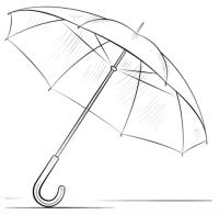 malvorlage regenschirm kostenlos | regenschirm herbst malvorlage zum ausdrucken