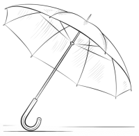 √ Malvorlage Regenschirm Kostenlos Regenschirm Herbst