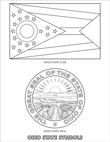 ohio state coloring pages # 18