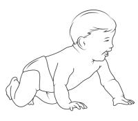 Dibujo de Beb para colorear | Dibujos para colorear ...