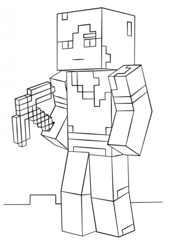 Minecraft Dantdm Face Coloring Pages Coloring Pages