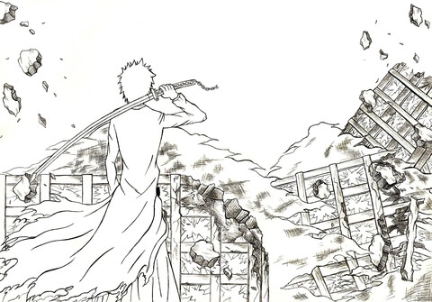 bleach coloring pages # 11