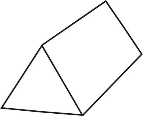 Rectangular Prism Coloring Pages Sketch Coloring Page