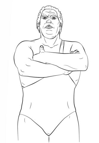 Dibujos Para Colorear De La Wwe 2016 Dibujos Para Colorear Luchador