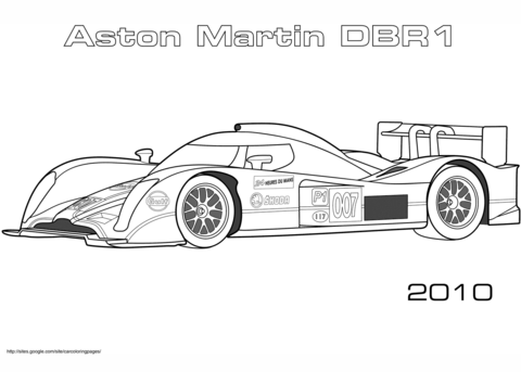 Gambar 2005 Aston Martin Dbr9 Coloring Page Printable Jpeg Png Gif ...