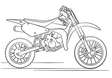 Disegni Da Colorare Motocross • Colorare.best