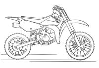 Disegno Moto Yamaha Da Colorare Idee Di Immagine Del
