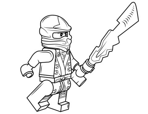 Kleurplaten Lego Ninjago Masters Of Spinjitzu.Comfortable Lego Ninjago Cole Kleurplaat Gratis Kleurplaten Printen