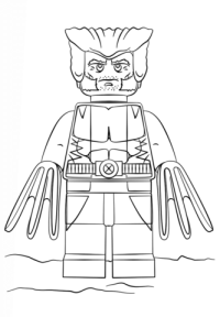 Deadpool Para Colorear Attack Coloring Page Coloring Pages