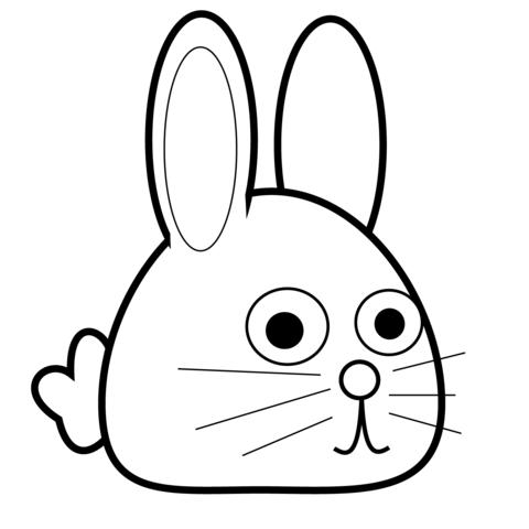 Forårs Kanin tegninger
