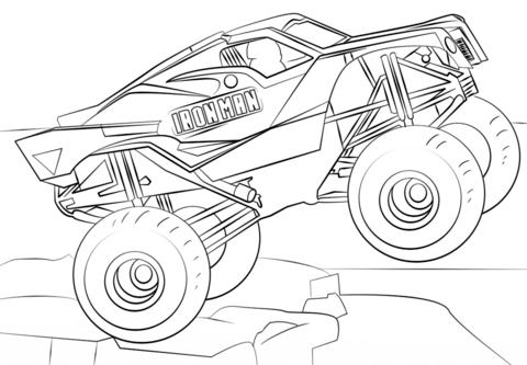 Malvorlagen Monster Truck