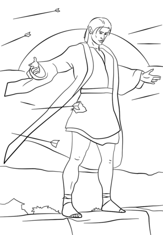 Samuel The Lamanite Coloring Page Free Printable