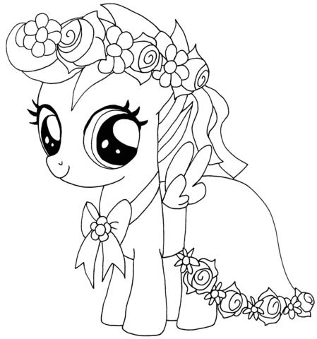 Disegni Dei My Little Pony Da Colorare - Coloring Image
