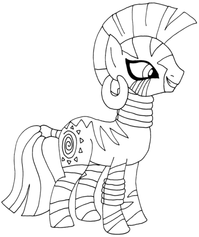 My Little Pony Cutie Mark Crusaders Coloring Pages My