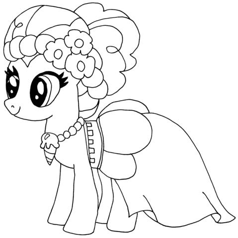 Pinkie Pie tegninger