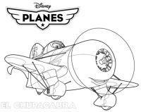 Disney Planes El Chupacabra coloring page   Free Printable ...