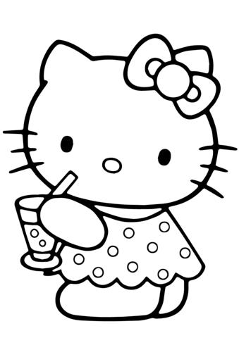Hello Kitty Kesae Vaerityskuva