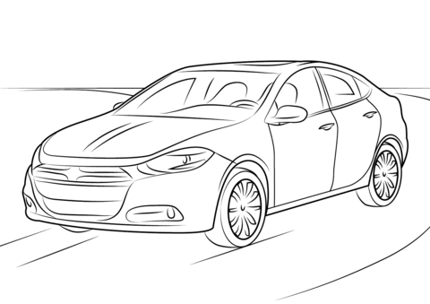 Dodge Magnum Pages Coloring Pages