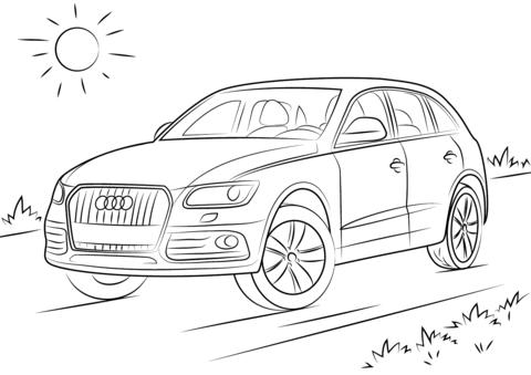 Audi Q5 värityskuva