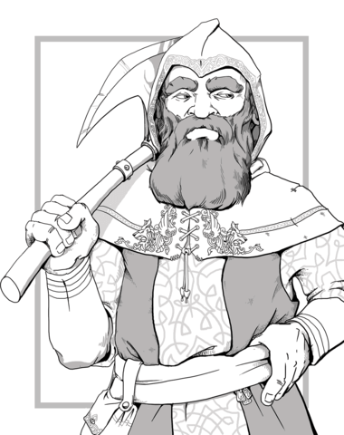 dungeons and dragons dwarf