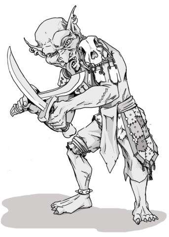 dungeons and dragons goblin