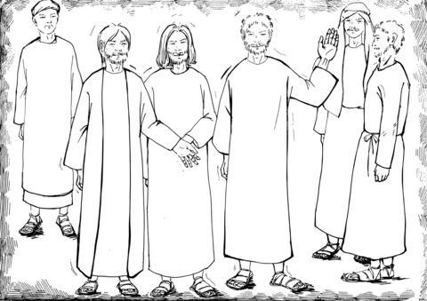 Matthias Chosen as the New Apostle to Replace Judas