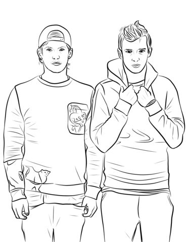 Fall Out Boy And Panic At The Disco Wallpaper Twenty One Pilots Coloring Page Free Printable Coloring