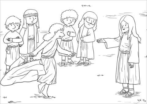Blind Bartimaeus Receives His Sight (Mark 10:46-52