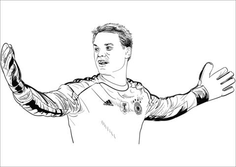 Voetbal Kleurplaat Ronaldo