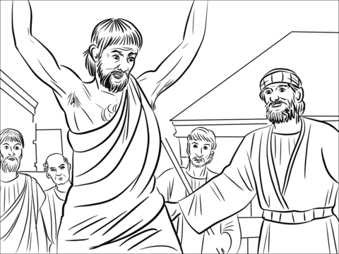 Peter And John Heal The Cripple Man Childrens Church Ideas