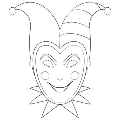 Joker Da Colorare.Joker 2019 Disegno Da Colorare