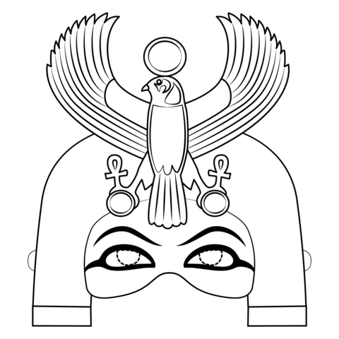 Free egyptian mask templates