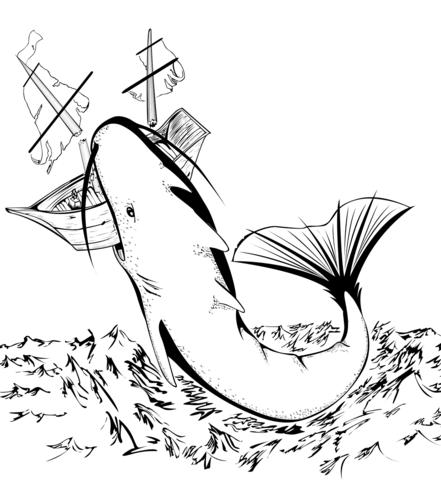 Comfortable Megalodon Shark And Jurassic World Mosasaur